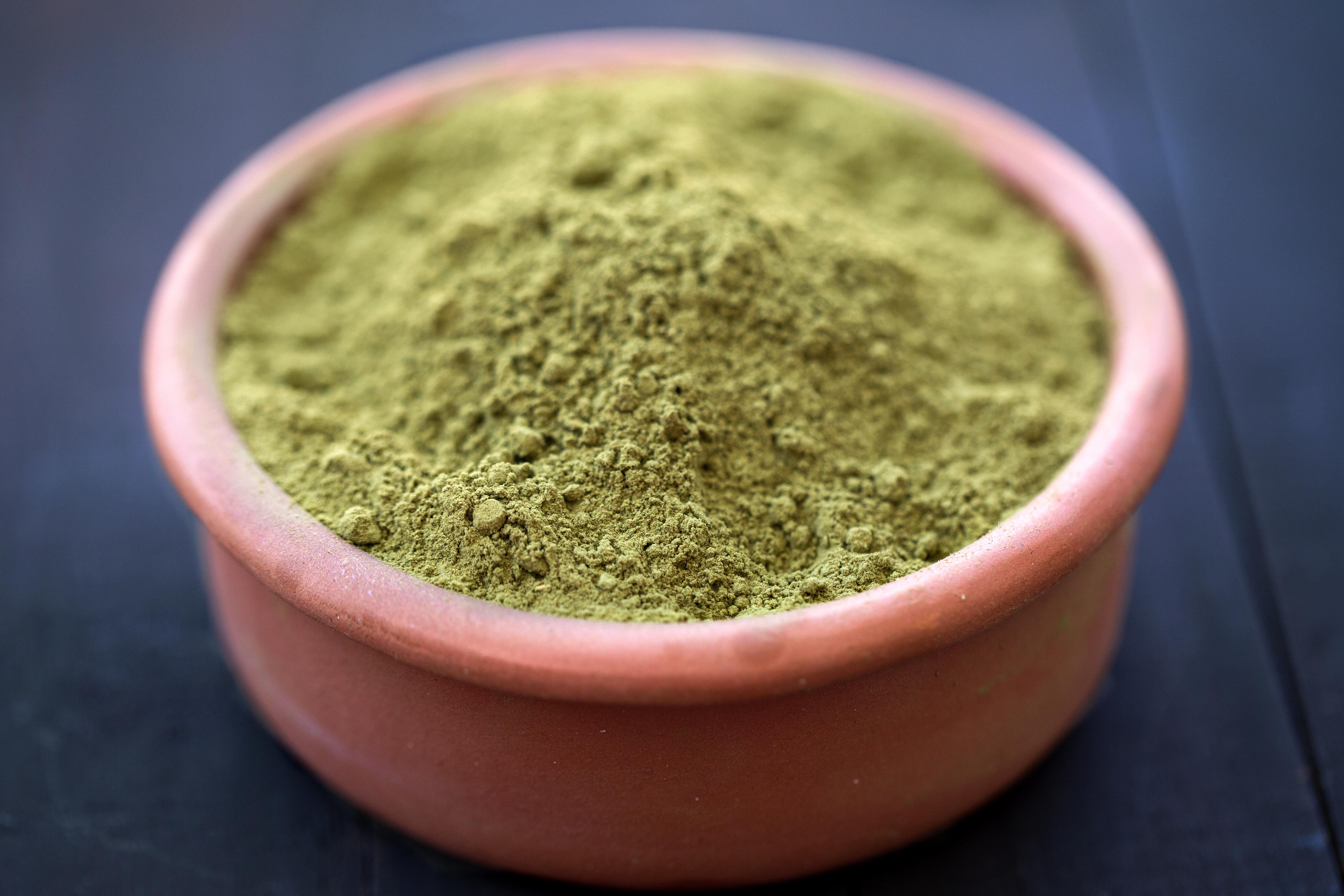 White Veined Hulu Kapuas Kratom Powder