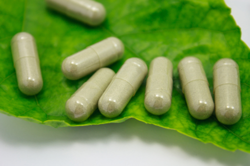 White Veined Indonesian Kratom Capsules