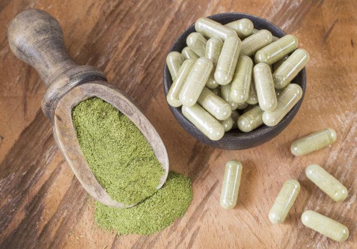Green Veined Bali Blast Kratom Powder