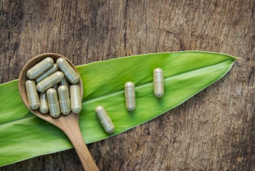 Green Veined Bentuangie Kratom Capsules