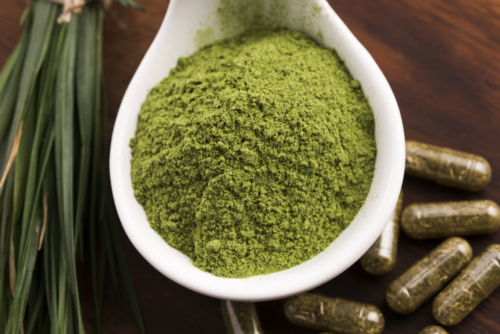 Green Veined Horned Leaf Maeng Da Kratom Powder