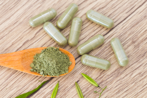 Green Veined Malay Kratom Capsules