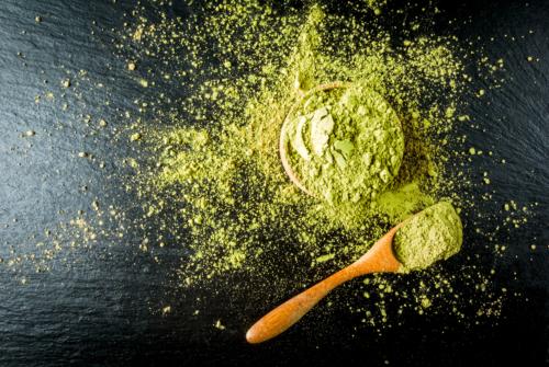 Green Veined Malay Kratom Powder