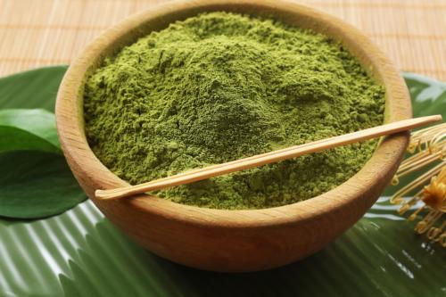 Green Veined Hulu Kapuas Kratom Powder