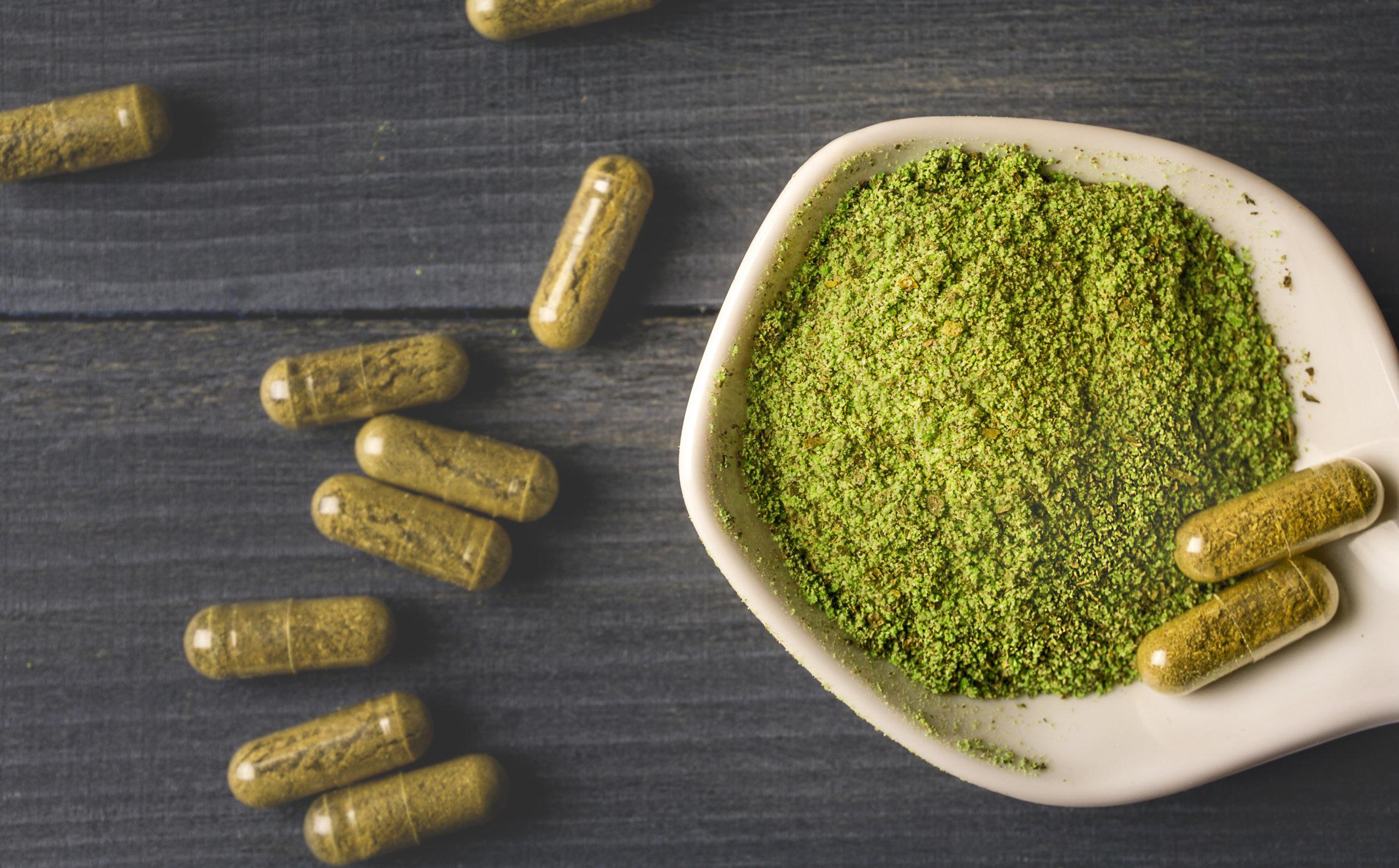 Red Veined Bali Supreme Powder for Sale - Kratom-K