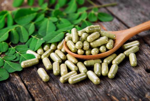 Green Veined Maeng Da Supreme Capsules