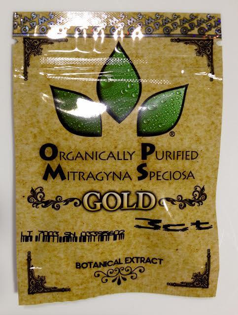 OPMS Kratom Gold 3 Capsules