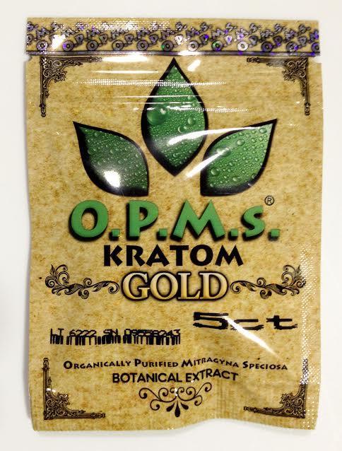 OPMS Kratom Gold 5 Capsules