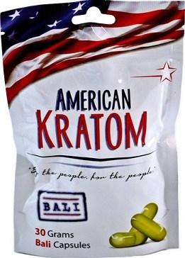 American Kratom Bali Capsules